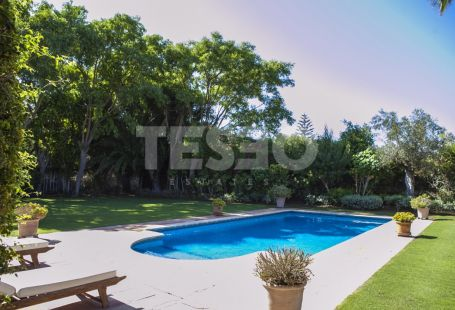 Southfacing villa with views to La Cañada golf course