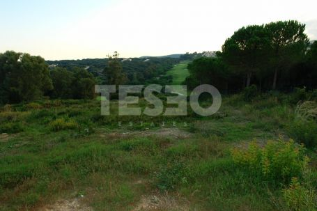 Plot Front Line Golf with Sea Views