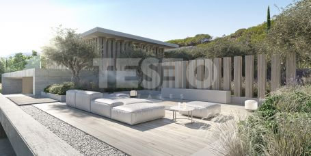 BLUE, a New and Spectacular villa by ARK built in La Reserva to be completed at the end of 2021
