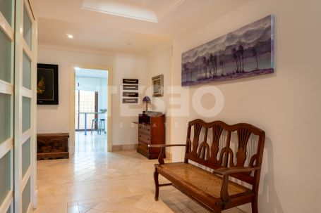 A spacious groundfloor apartment in Valgrande
