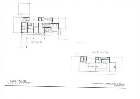 Plot for sale in Reyes y Reinas (polo area), Sotogrande. Poryect designed on the plot.