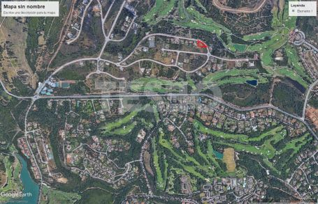 Plot for sale in La Reserva, Sotogrande with nice sea an golf views