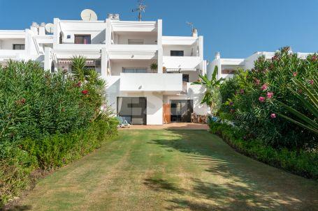 Precioso apartamento con jardín privado