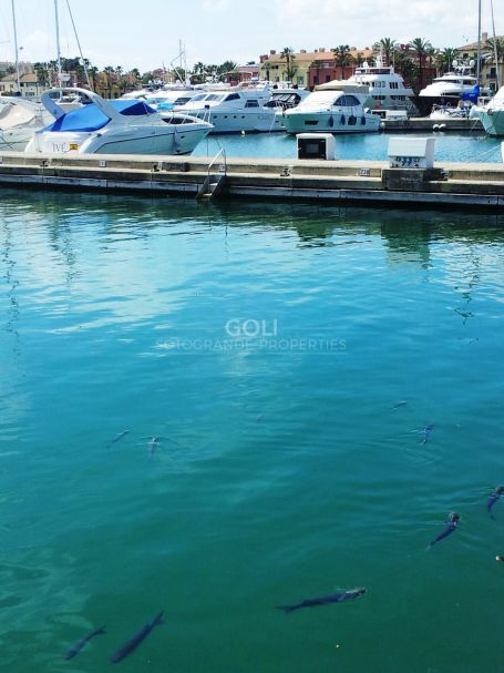 Berth for sale 12x 4 in front of K bar in Sotogrande Marina