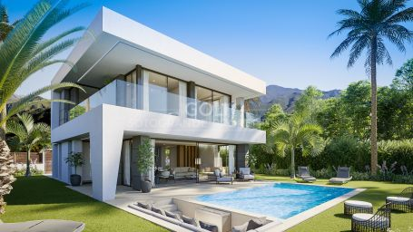 Contemporary villa with panoramic sea views in Manilva