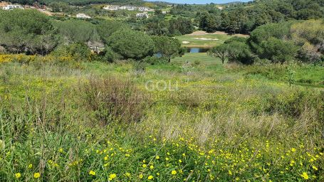 Plot facing La Reserva Golf Course