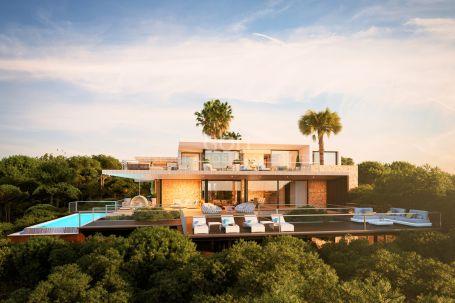 Modern villa, unique design close to Almenara Golf