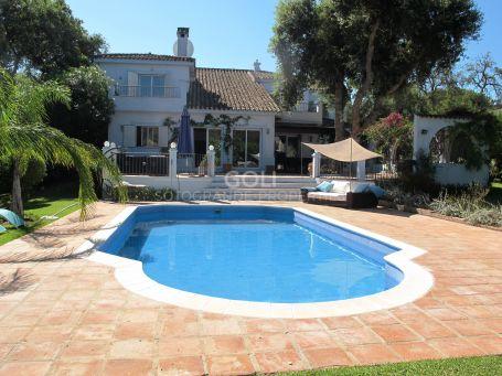 Bright villa in Lower Sotogrande