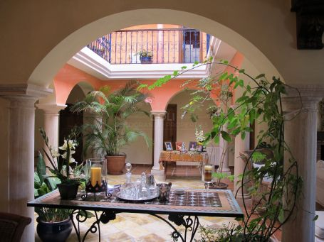 Spanish style from Seville in Sotogrande