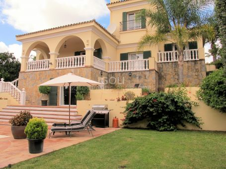 A pleasant villa full of light