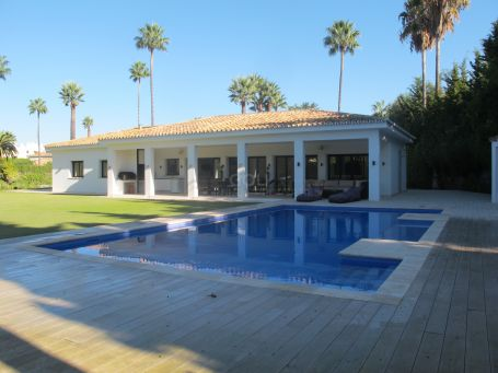 Villa on prestigious Lower Sotogrande