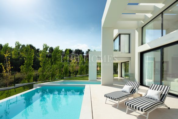 New villa, key ready, in the Golf Valley, Nueva Andalucia, Marbella