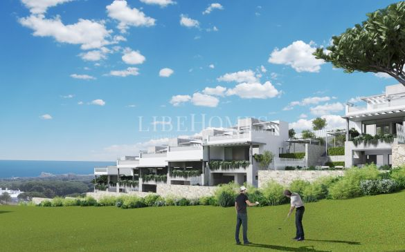 New townhouses in Cabopino Golf Resort, East Marbella