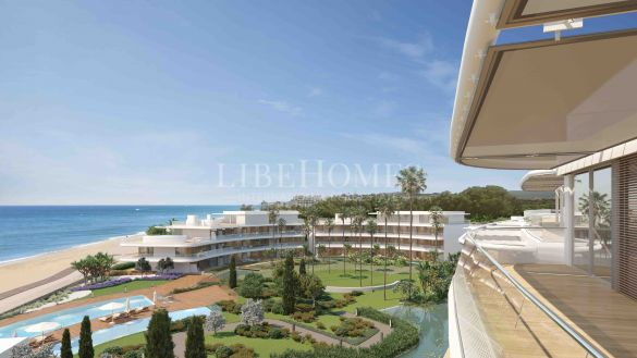 Luxury beachfront apartments, 5 minutes from Estepona