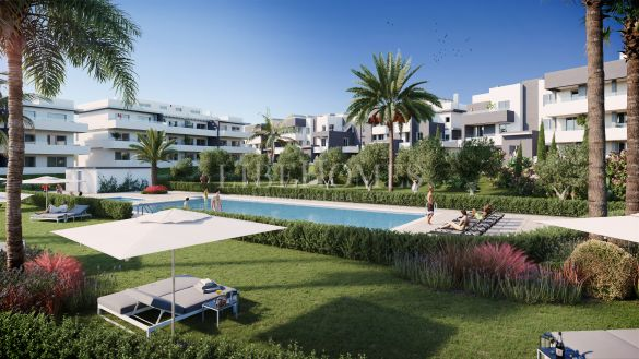 Ground floor apartments in a new development, Estepona