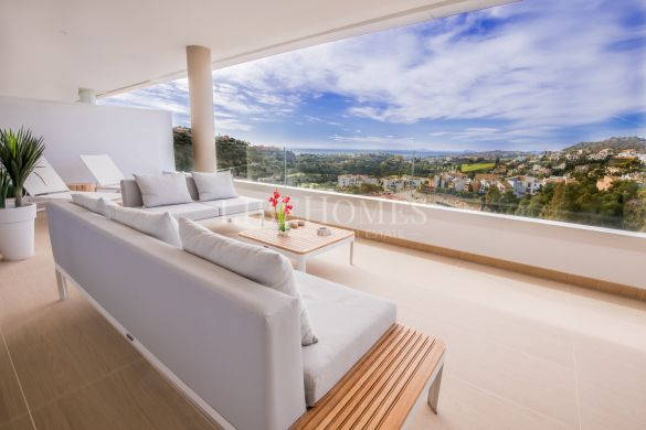Penthouses new development La Reserva de Alcuzcuz, Benahavis