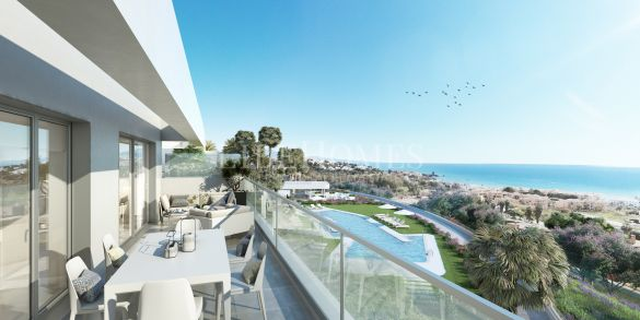 New apartment development next to the golf in Casares