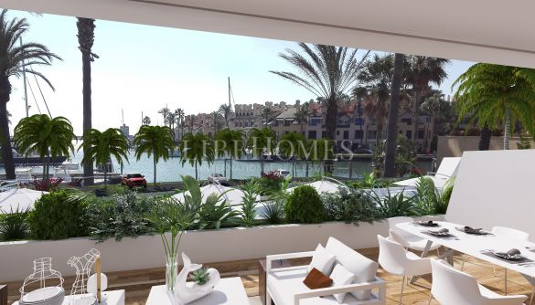 Penthouses in the glamorous Marina de Sotogrande