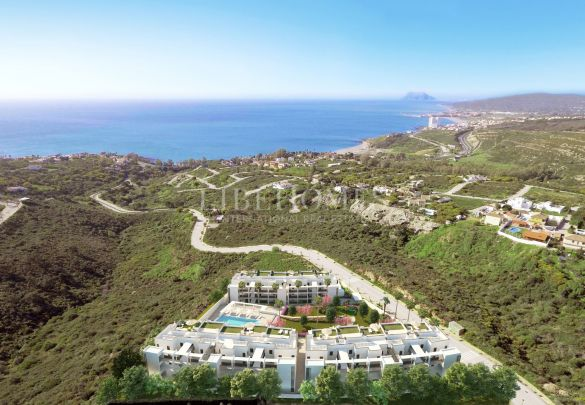 New apartments with incredible panoramic sea views, Manilva