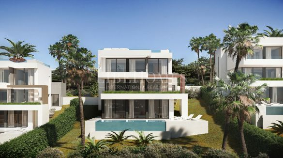 New development of modern villas in La Cala Golf, Mijas