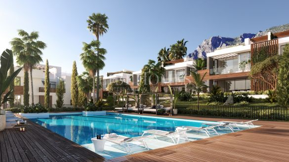New development of luxury villas, Sierra Blanca, Marbella Golden Mile