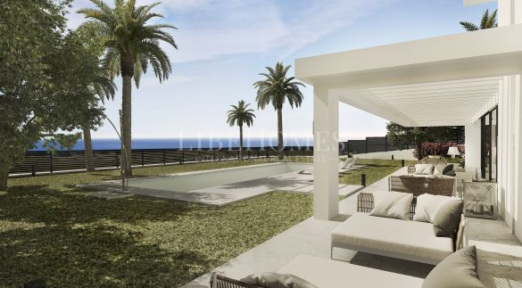 Newly built villa in elite resort Los Flamingos Golf, Benahavis
