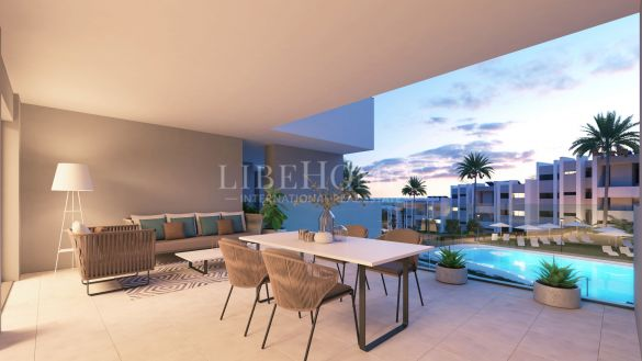 New apartments with sea views in La Duquesa, Manilva