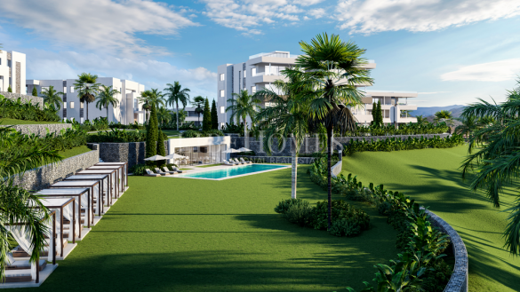 Newly built apartments in Santa Clara Golf, in East Marbella
