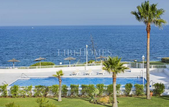 New beachfront apartment development, key ready, in Casares