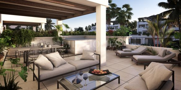 Luxury penthouses in Lomas del Rey, Marbella Golden Mile