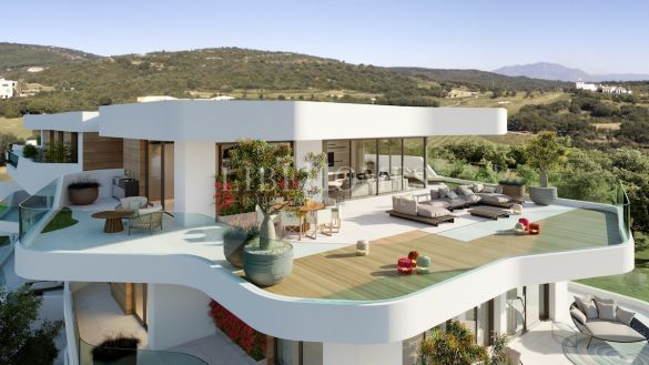 Luxury penthouses of modern design in La Reserva, Sotogrande