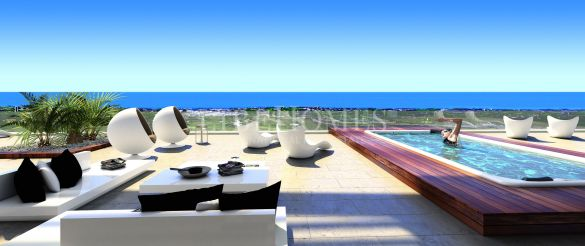 New penthouses in El Paraiso Golf, New Golden Mile, Estepona