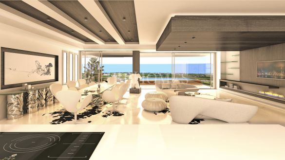 New apartment development in El Paraiso Golf, Estepona
