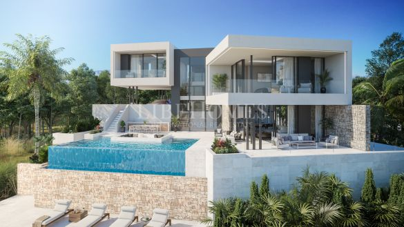 Modern-concept turnkey villa in La Cala Golf Resort, Mijas