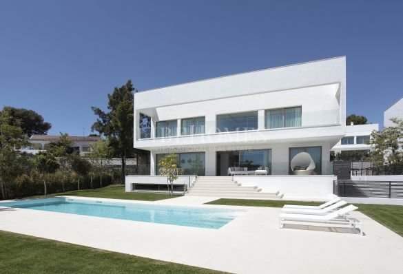 Newly built villa, luxury development in Casasola, Estepona