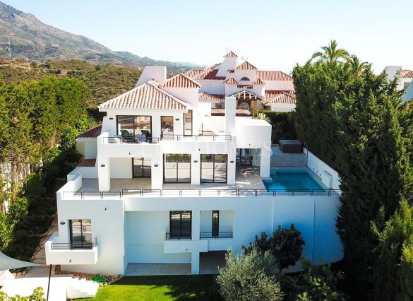 Totally renovated villa in Las Lomas de Nueva Andalucia, Marbella