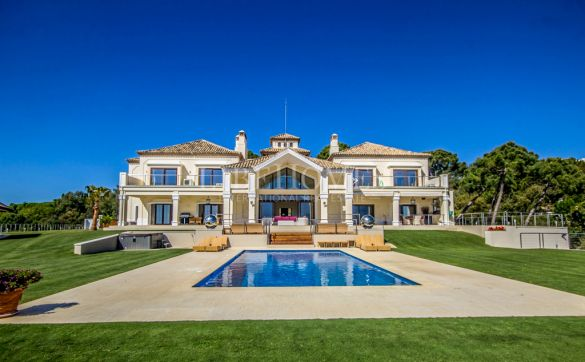 Villa on one of the best plots of La Zagaleta, Benahavis