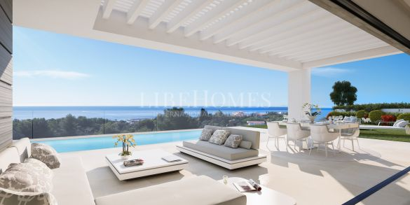 New modern-style villas close to the golf in Cabopino, East Marbella