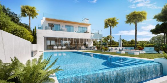 New development of villas in La Cerquilla, Nueva Andalucia, Marbella