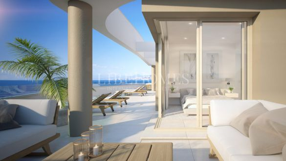 New apartment development with sea views in Mijas Costa