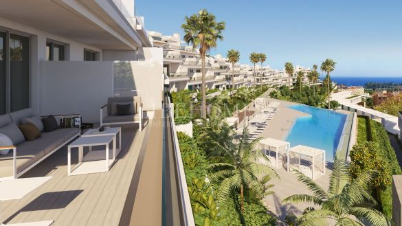 New apartment development in the New Golden Mile, Estepona
