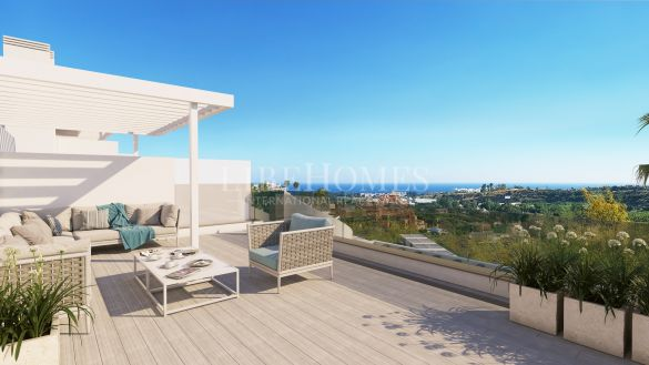 Penthouses in new development, New Golden Mile, Estepona