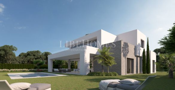 New development of modern-style villas in La Cala Golf, Mijas Costa