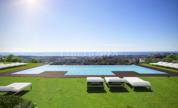 New luxury penthouses in Las Colinas de Marbella, Benahavis