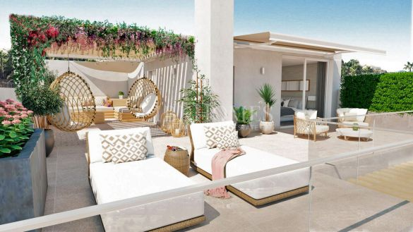 New development of villas with sea views in La Cala Golf Resort, Mijas