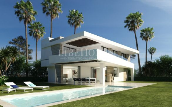 New villas in La Resina Golf, New Golden Mile, Estepona