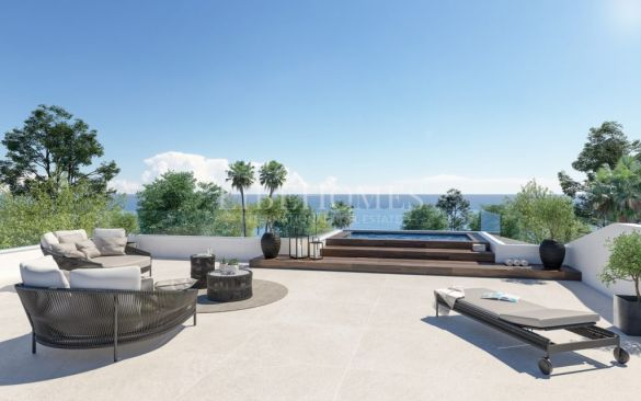 New development of luxury villas, San Pedro de Alcantara beach