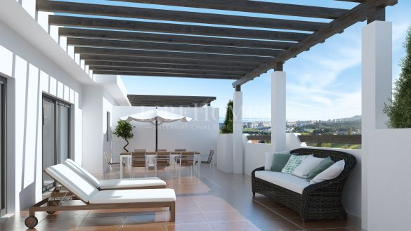 Penthouses in a new development, key ready, golf area, Casares