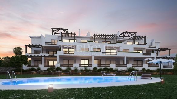 New apartments development, key ready, golf area, Casares