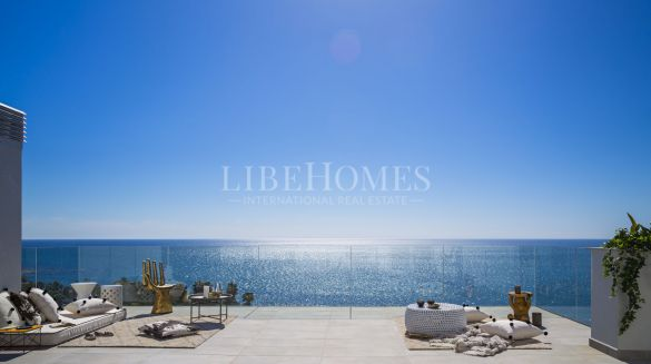 New beachfront penthouses, El Chaparral, Mijas